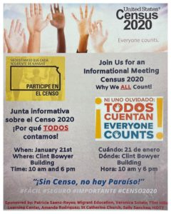 Informational Meeting Census 2020 Emporia Area Chamber