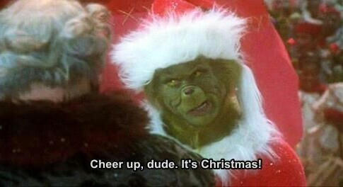 """43rd Annual Community Christmas Parade """"Cheer Up Dude. It's Christmas!"""" -The Grinch"""
